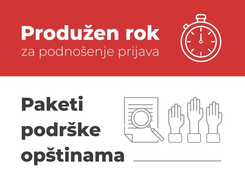 Produžen rok za podnošenje prijava za Pakete podrške za unapređenje transparentnosti i građanskog učešća