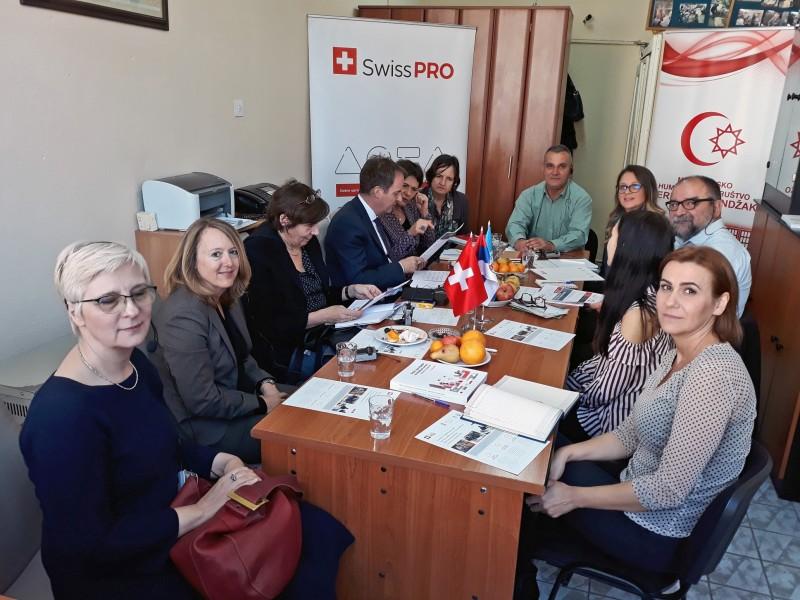 Visoka delegacija Švajcarske posetila korisnika Swiss PRO podrške u Novom Pazaru