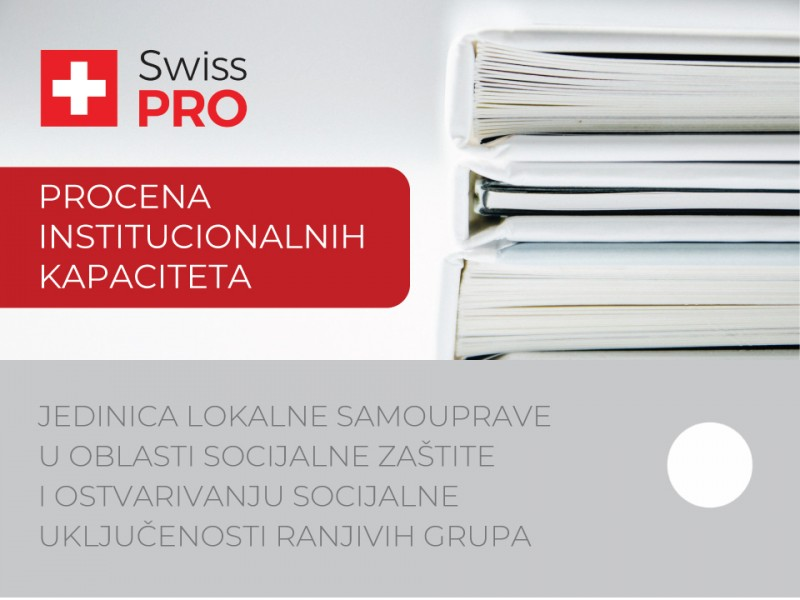 Swiss PRO published the Assessment of Local Capacities in Social Protection and Social Inclusion of Vulnerable Groups