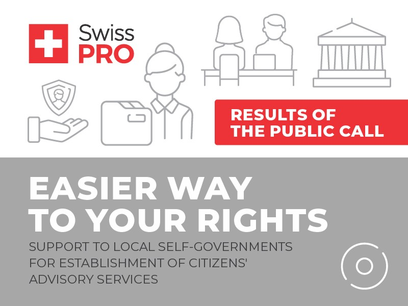 Easier Way to Your Rights - Citizens' Advisory Services in 13 local self-governments